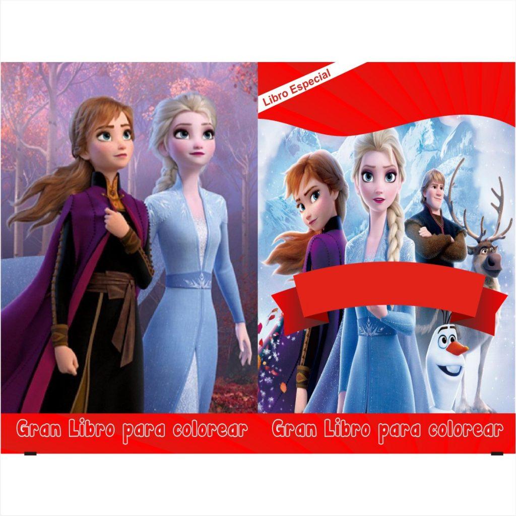 Libro-para-colorear-de-Frozen