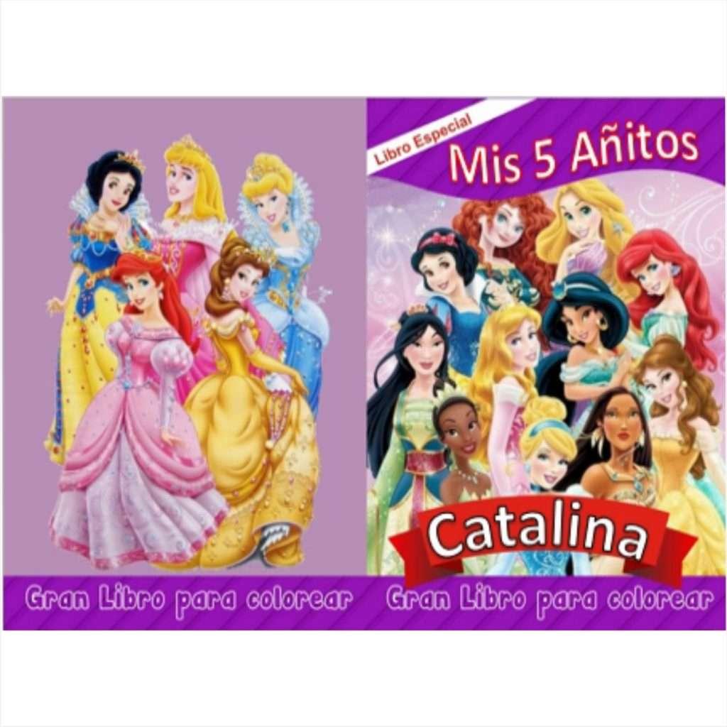 Libro-para-colorear-de-Princesas-y-editar-en-power-point