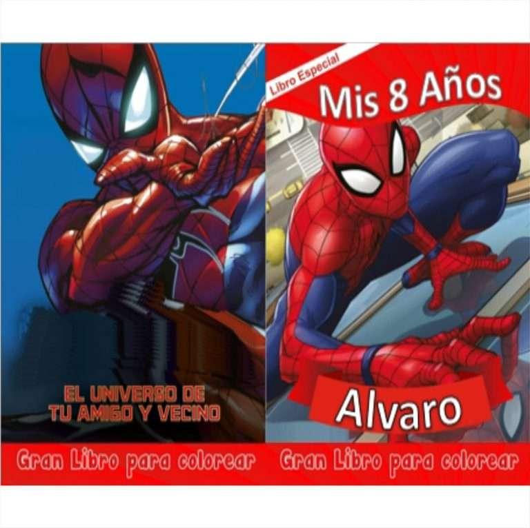 Libro-para-colorear-de-Spiderman