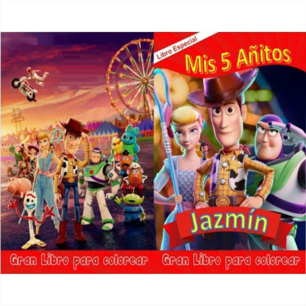 Libro-para-colorear-Toy-Story-4