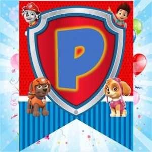 banderines-para-cumpleaños-de-paw-patrol